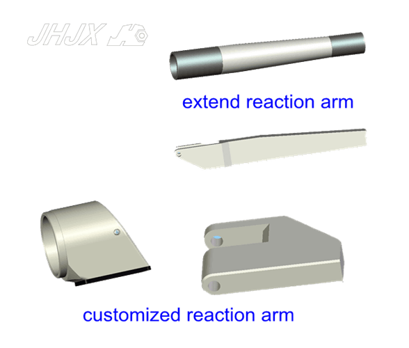 Hydraulic torque wrench-pneumatic torque wrench reaction arm-customzied extend reaction arm-reaction pad